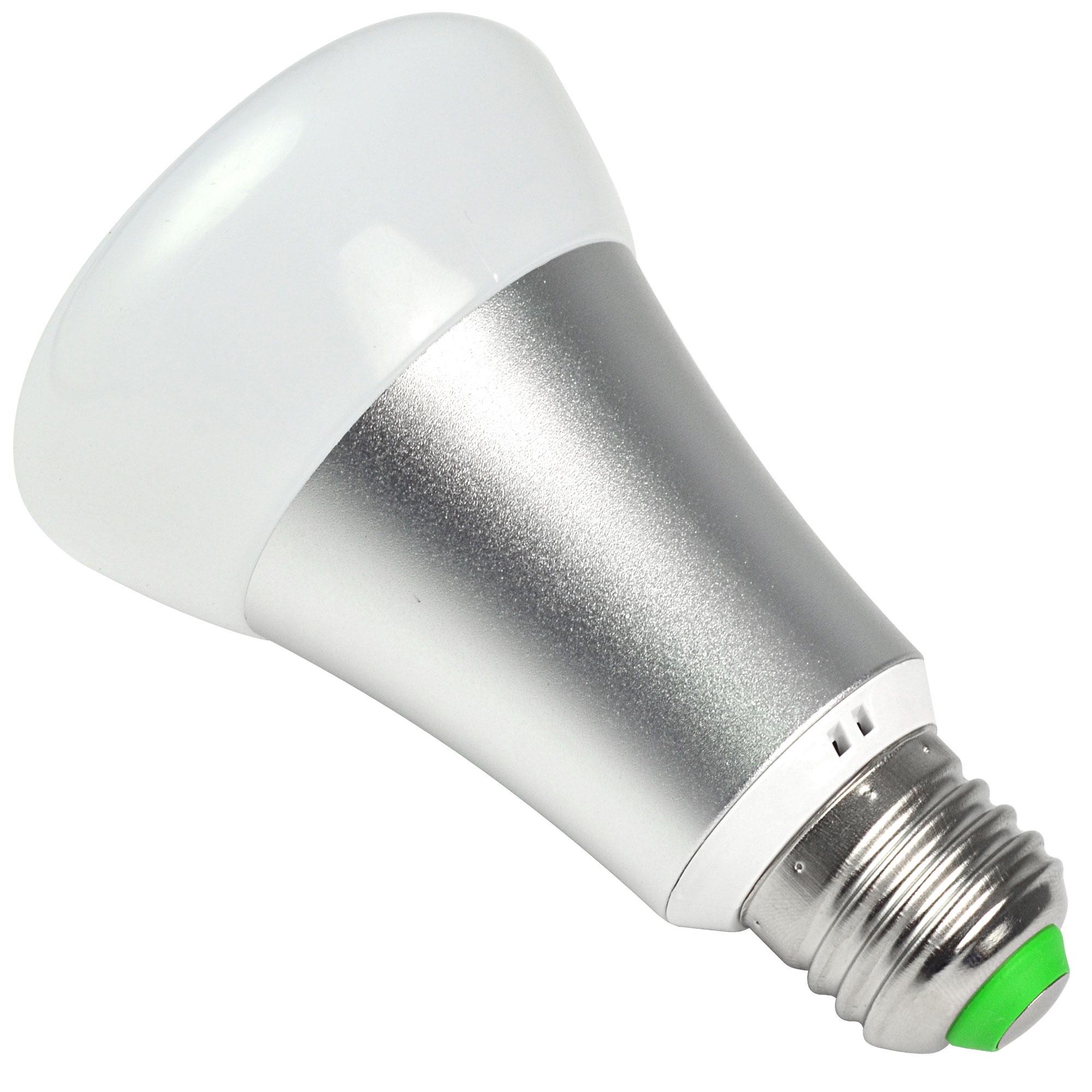 MENGS® E27 10W LED RGB+Cool White Globe Light