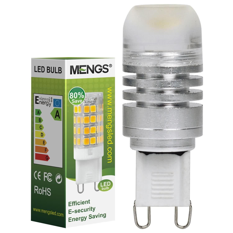 Mengsled Mengs G9 3w Led Light Cob Leds Led Bulb Dc 12v In Cool White Energy Saving Lamp