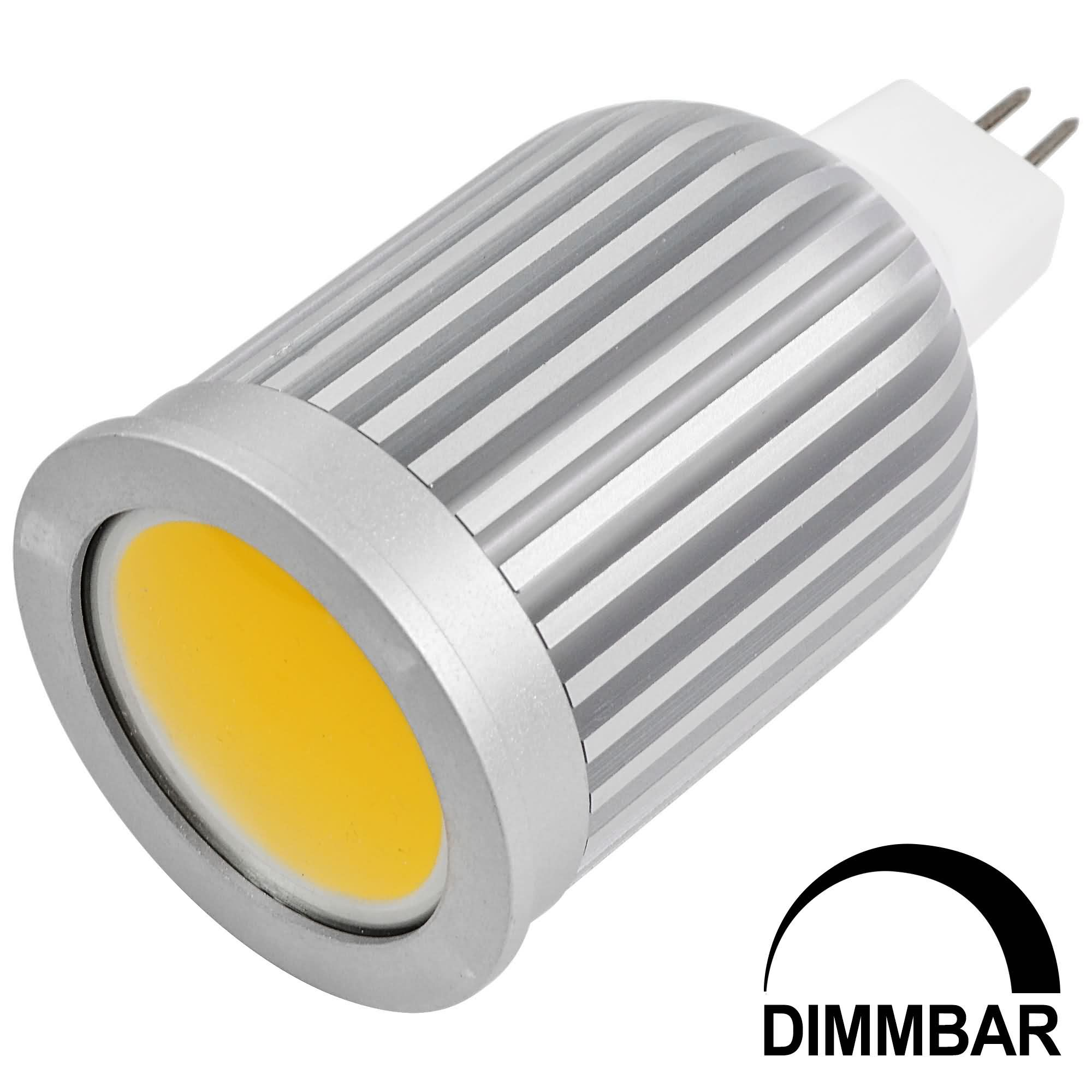 Mengsled mengs mr16 7w led dimmable spotlight cob led bulb lamp in warm white cool white Mr16 bulb