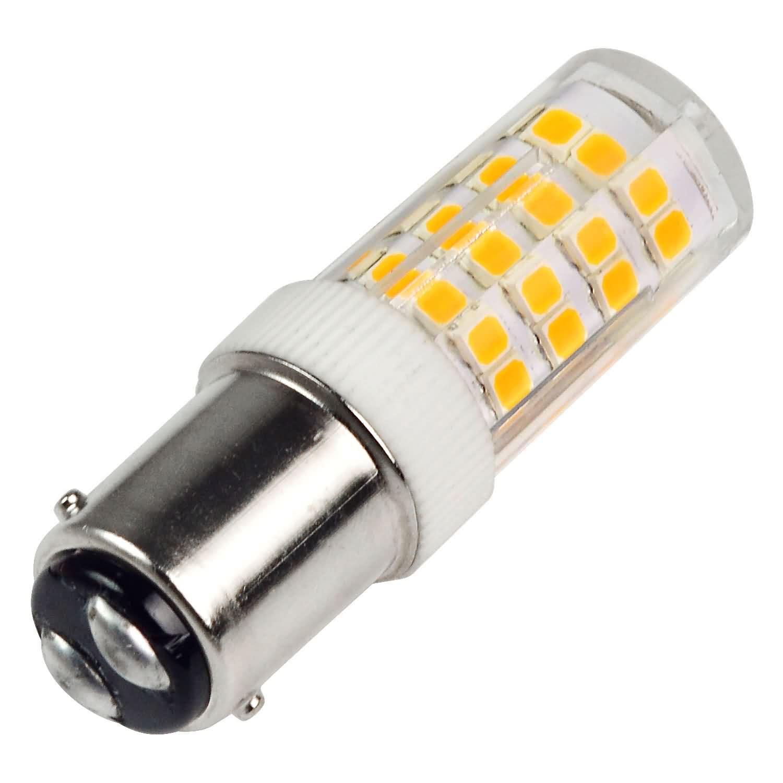 Mengsled Mengs B15d 5w Led Light 52x 2835 Smd Led Bulb Lamp In Warm White Cool White Energy