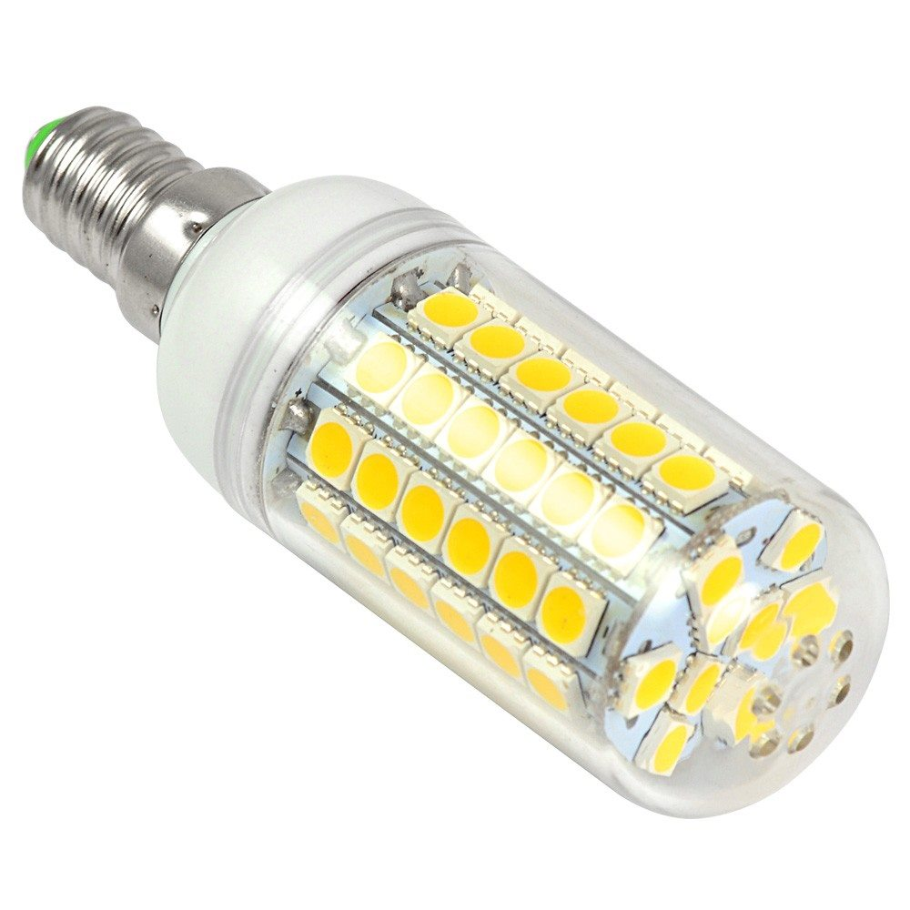mengsled mengs e14 9w led corn light 69x 5050 smd leds led lamp bulb ac 10 30v in warm cool. Black Bedroom Furniture Sets. Home Design Ideas