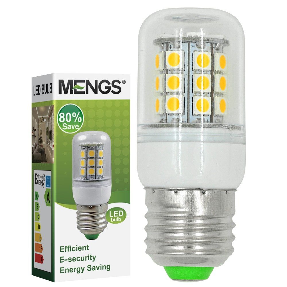 MengsLED – MENGS® E27 5W LED Corn Light 30x 5050 SMD LEDs ...