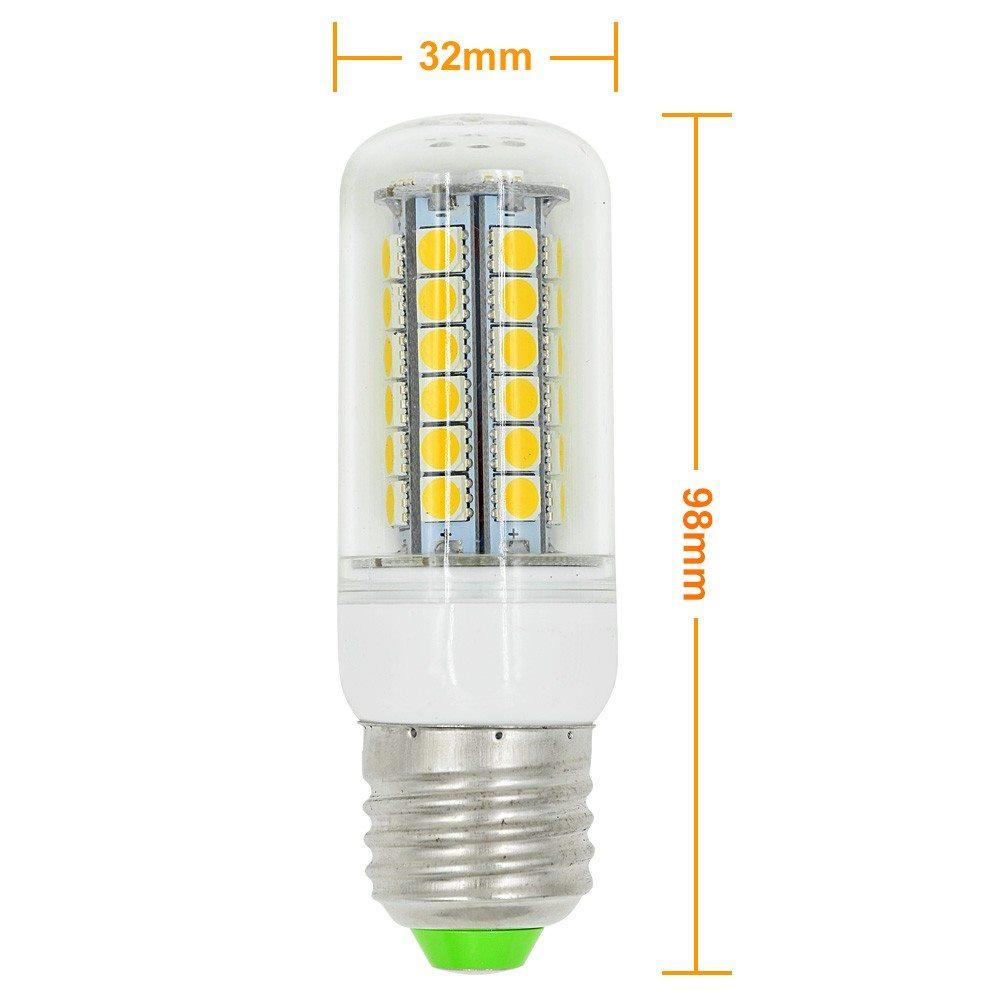 mengsled mengs e27 8w led corn light 48x 5050 smd leds led bulb ac 10 30v in warm cool white. Black Bedroom Furniture Sets. Home Design Ideas