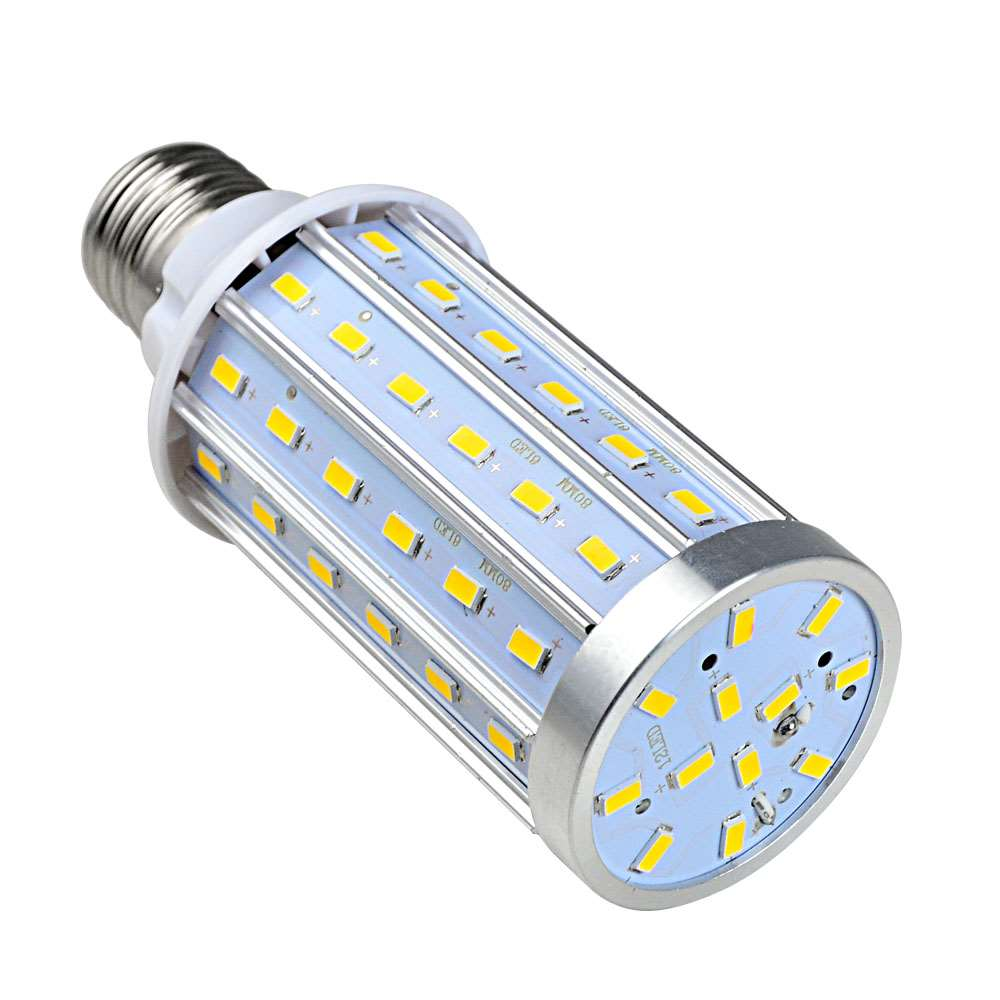 20w Smd Led 12v: MENGS® E27 20W LED Dimmable Corn Light 72x 5730