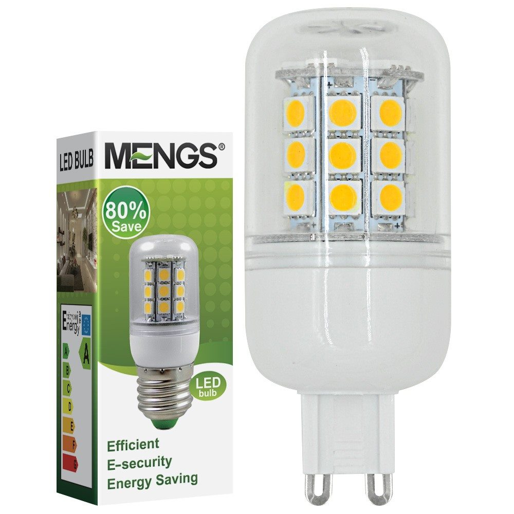 mengsled mengs g9 5w led corn light 30x 5050 smd leds led bulb ac 10v 30v in warm cool white. Black Bedroom Furniture Sets. Home Design Ideas