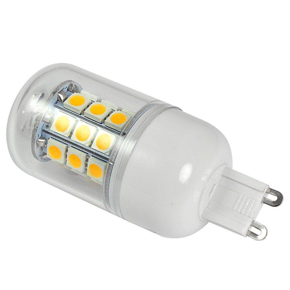 mengsled mengs g9 5w led corn light 30x 5050 smd leds. Black Bedroom Furniture Sets. Home Design Ideas