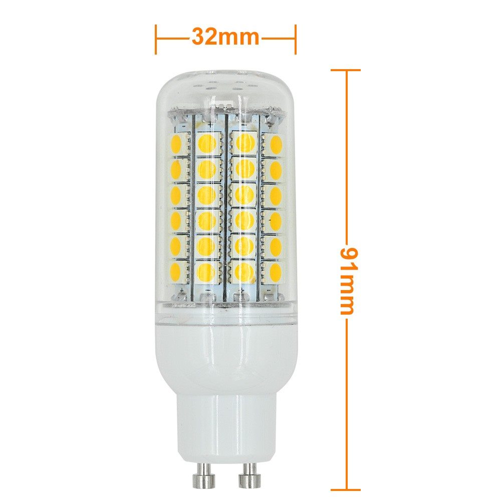 mengsled mengs gu10 9w led corn light 69x 5050 smd leds led bulb ac 10 30v in warm cool white. Black Bedroom Furniture Sets. Home Design Ideas